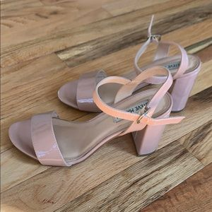 Steve Madden Pink Sandal Heels